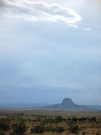 Cabezon Peak - Cabezon Peak in northwestern New Mexico