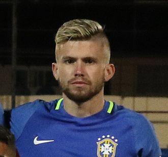 Caio Henrique Oliveira Silva - Caio Henrique with Brazil U20 in 2017