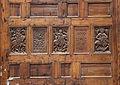 Cairo, chiesa di san sergio, iconostasi con intagli 01.JPG