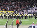 Cal Band performing at halftime at 2009 Poinsettia Bowl 2.JPG