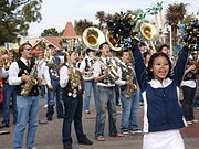 Cal Straw Hat Band (a smaller subset of the Cal Band) playing at SeaWorld in San Diego, California.