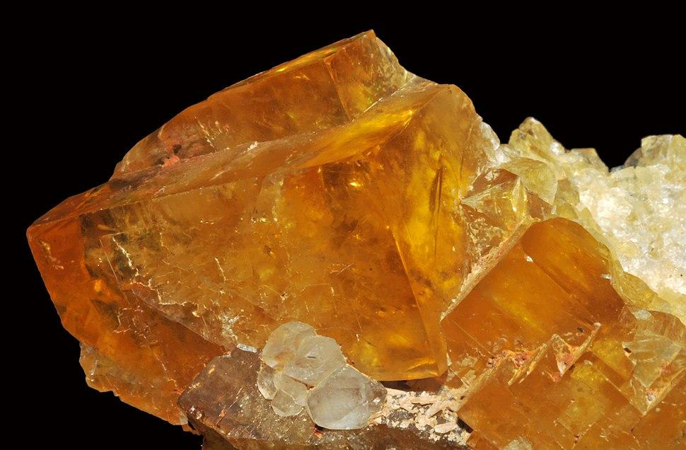 Calcite sur fluorine (USA) 1