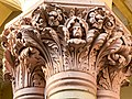 Calcutta High Court - Sculptured on the pillar 09.jpg
