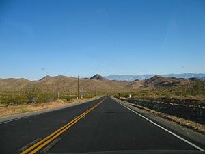 California State Route 247 - SR 247 between Lucerne Valley and Barstow