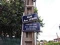 Caluire-et-Cuire - Rue Abbé Lemire, plaque.jpg