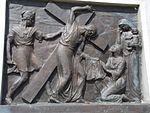 Calvary of Karl I of Austria. Station 6. Veronica wipes the face of Jesus. - Tihany.JPG