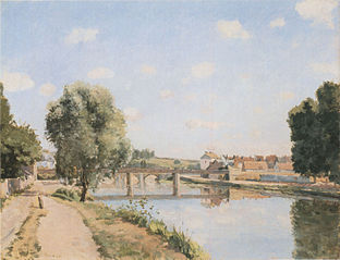 The Railway Bridge, Pontoise