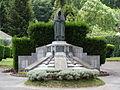 Campan - Monuments aux morts - sculpture d'Edmond Chrétien - Femme au Capulet.JPG