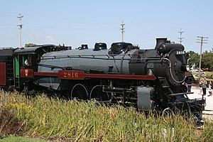 Canadian Pacific 2816 - Image: Canadian Pacific 2816