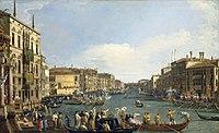 Canaletto (Venice 1697-Venice 1768) - A Regatta on the Grand Canal - RCIN 404416 - Royal Collection.jpg