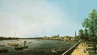 Canaletto - London, The Thames from Somerset House Terrace towards Westminster.jpg