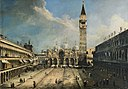 Каналетто - Площадь Сан-Марко в Венеции - Google Art Project.jpg