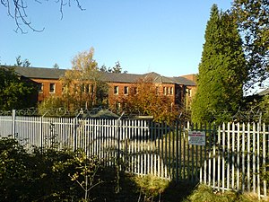 Cane Hill Hospital - Cane Hill in 2005 (some years after it had mostly closed)