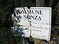 Cap Corse - Nonza - warning sign from the 1930s - panoramio.jpg