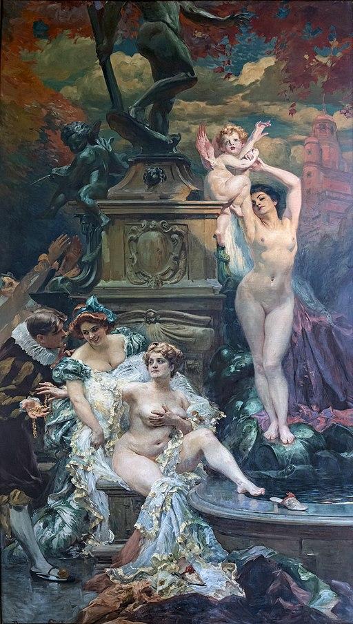 Capitole Toulouse - Salle des Illustres - La Fontaine de Jouvence 1908 - Paul Gervais