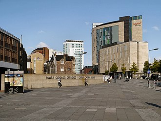Central Square, Cardiff - Cardiff Central Square in 2012