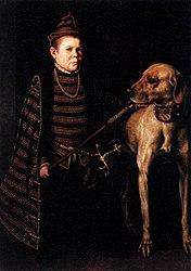 Antonis Mor: Cardinal Granvelle's Dwarf