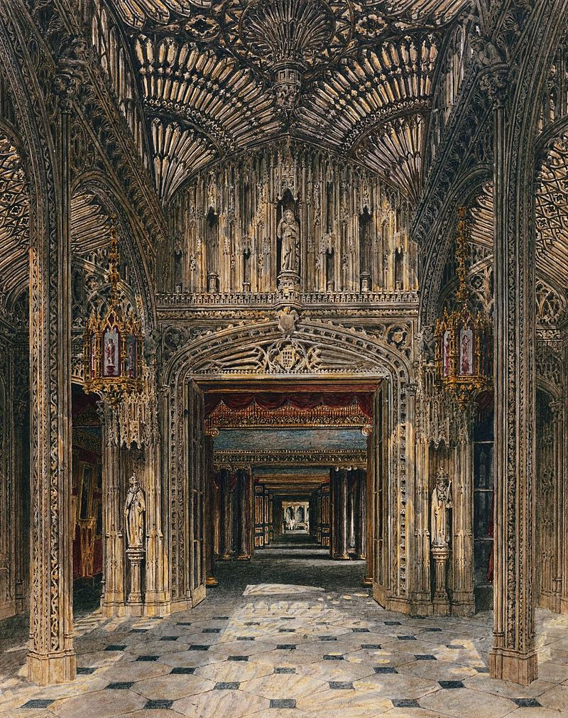 Карлтон Хаус, Консерватория, по Charles Wild, 1819 - royal coll 922192 257104 ORI 0.jpg