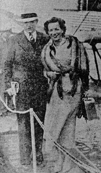 Mário Reis - Mário Reis and Carmen Miranda in 1935.