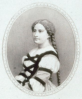 Faust (opera) - Miolan-Carvalho as Marguerite (1860)