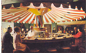 Carousel Piano Bar & Lounge - The Carousel in 1968
