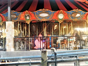 San Antonio Zoo - A carousel nearing completion was scheduled to open in 2014 in the San Antonio Zoo.