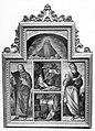 Carpaccio - Dio Padre benedicente; San Giacomo; San Girolamo in meditazione; Sant'Antonio Abate Eremita; San Giovanni Evangelista, 1496-1505.jpg