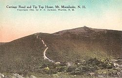Mount Moosilauke in 1912