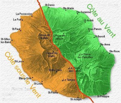 Géographie de La Réunion — Wikipédia