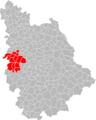 Carte de la Communauté de communes du Pays Vouglaisien.png