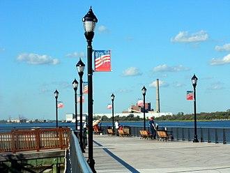 Carteret, New Jersey - Carteret Waterfront Park