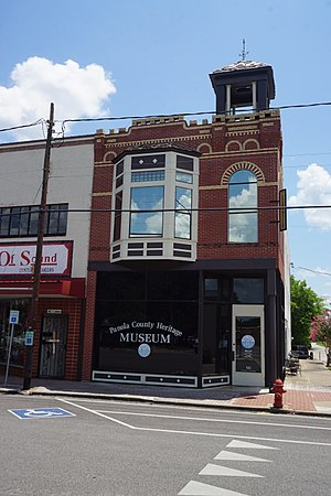 Panola County, Texas - The Panola County Heritage Museum in downtown Carthage