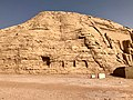 Carved Stone Cliffs, The Great Temple of Ramses II, Abu Simbel, AG, EGY (48017150428).jpg