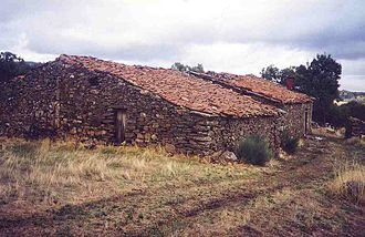 Bragança District - A stone home from the 17th century in the municipality of Mogadouro