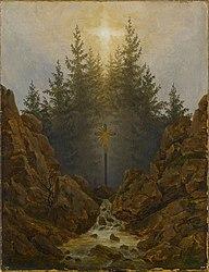 Caspar David Friedrich: Cross in the Mountains