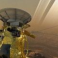 Cassini's Decent into Saturn (34004664612).jpg