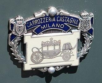 Carrozzeria Castagna - Image: Castagna badge