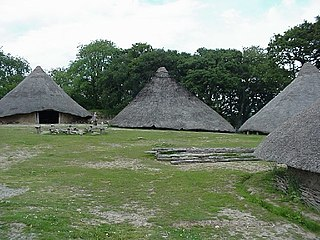 Castell Henllys Archaeological open-air museum