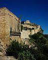 Castell des de l'exterior de la porta del Socors, Xàtiva.JPG