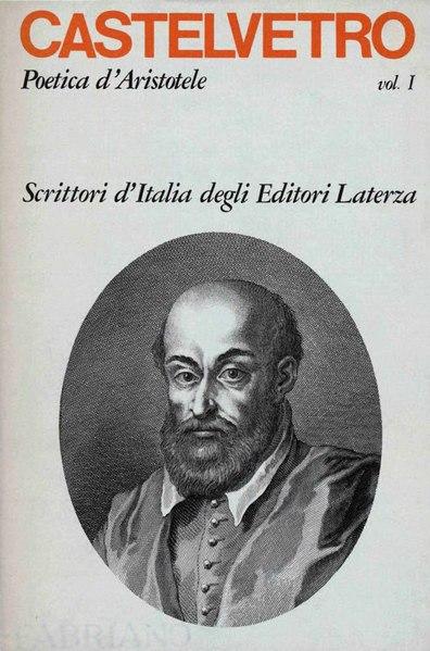 File:Castelvetro, Lodovico – Poetica d'Aristotele vulgarizzata e sposta, Vol. I, 1978 – BEIC 1783618.djvu