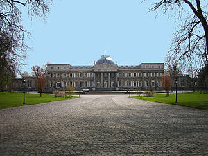 Lotto Cross Cup Brussels - The course is run in the park grounds near the Royal Palace of Laeken