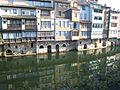 Castres (81), Maisons sur l'Agoût.JPG