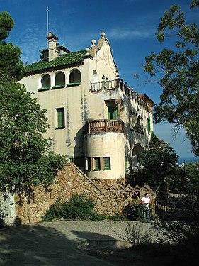 Catalunya Barcelona Casa al Parc Guell.jpg