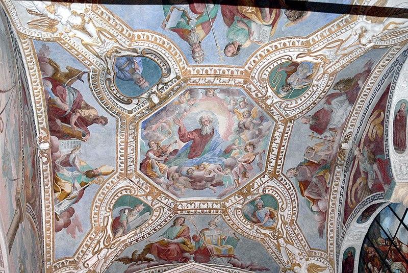 File:Caterina del Sasso - Kirche Deckenfresko 1.jpg