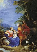 Cavalier d'Arpino - The Rest on the Flight into Egypt - WGA04695.jpg