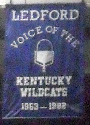 Cawood Ledford - Image: Cawood Ledford banner