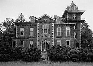 Bayard Taylor - Cedarcroft, Taylor's home.