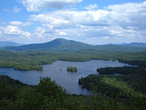 Leatherstocking Council - Lake McRorie from OA mountain