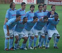 a1237232d58ed Once inicial en el Trofeo Luis Otero del año 2010 ante el Pontevedra CF.
