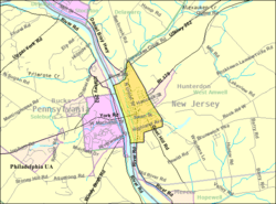 Census Bureau map of Lambertville, New Jersey Interactive map of Lambertville, New Jersey